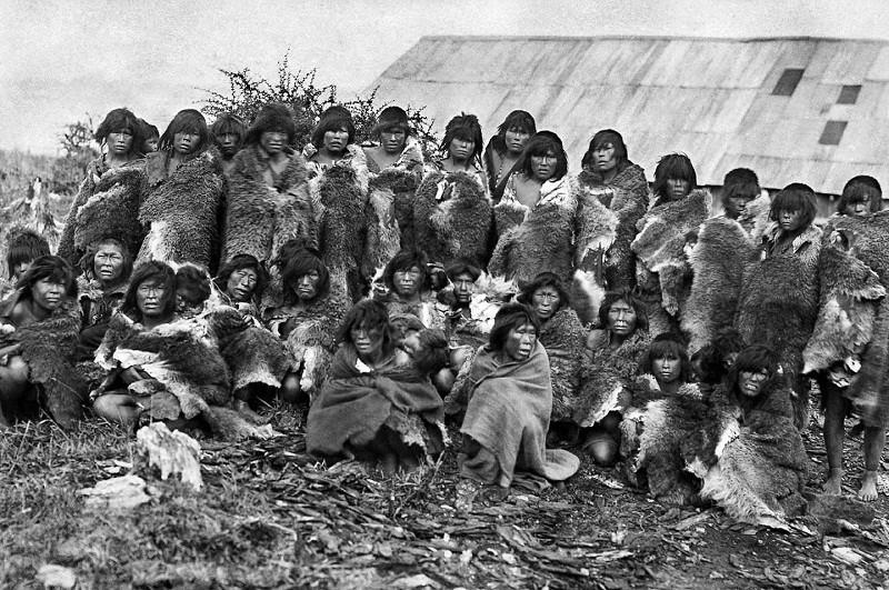 Indigènes de Patagonie